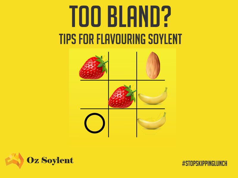 Oz Soylent Lunch Campaign Poster